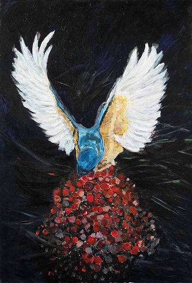 BIRD ON BERRIES - Zeynep Güler