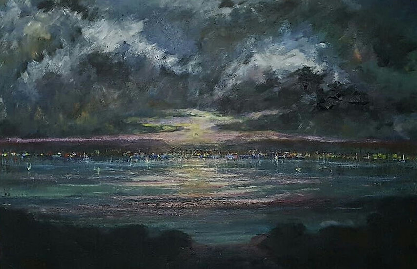 THE SUNSET OVER THE BAY - Darren Hall