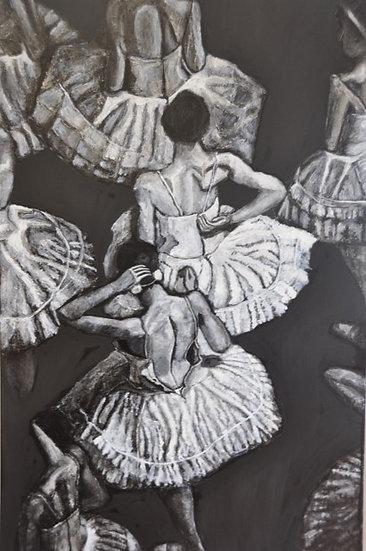 THE DANCER IN BLACK AND WHITE - Peretto Magali