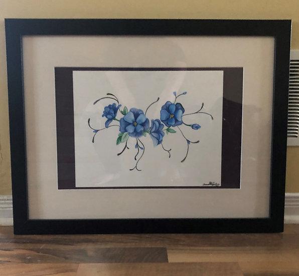 BLUE FLOWER - Sammie Tzambazis