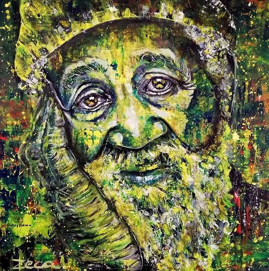 MAN IN GREEN - Zeca Vilela