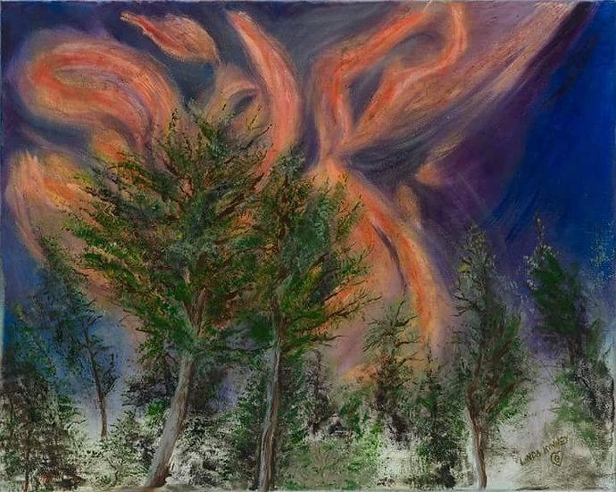 FLAMES OVER RUIDOSO - Linda Kinney