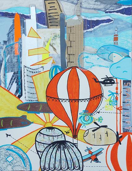 AIR TRAVEL - Lina Kernberger