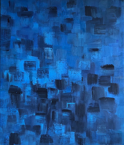 A SYMPHONY OF BLUES - Agnes Cavina