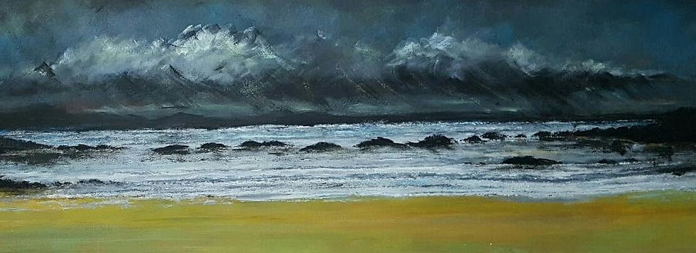 THE WAVES ROLL IN - Darren Hall