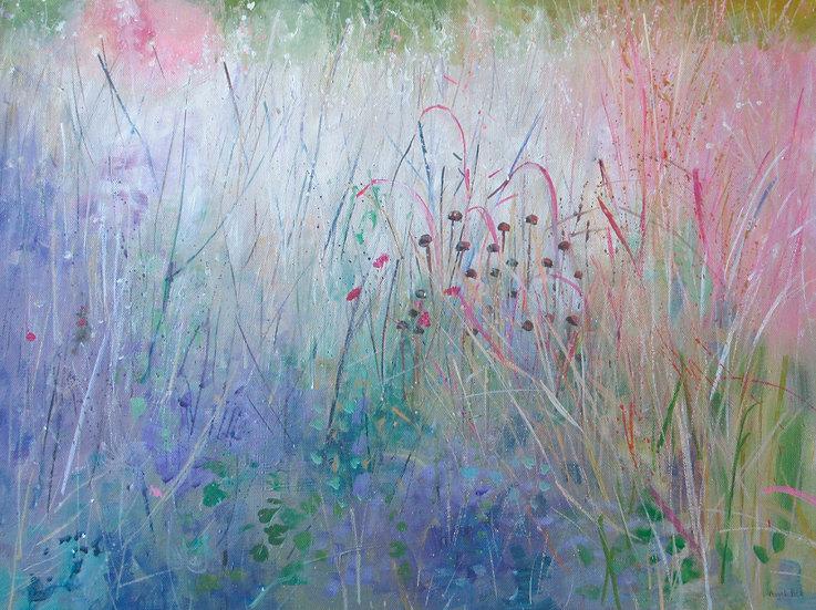 AUTUMN GRASSES - Angela Bell