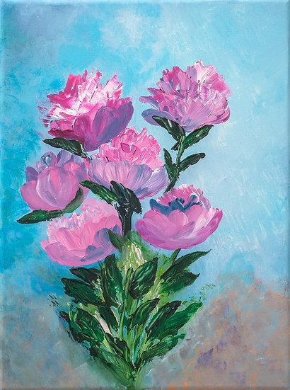 PINK ROSE BOUQUET - Lucy Oak