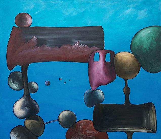 THE FUTURE LOOKS BLUE - Theo Overgaauw