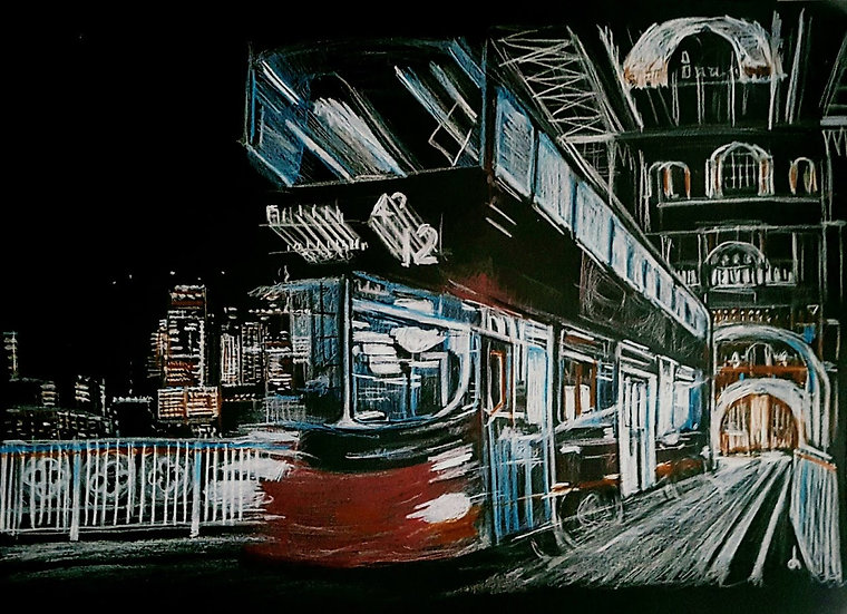 LONDON AND BUS - Darren Hall