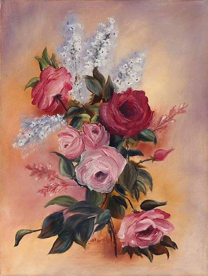 INSPIRED BY THE ROSE - Linda Kinney