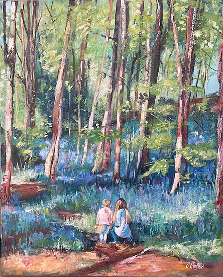 DON'T STEP ON THE BLUEBELLS - Catherine Corfield