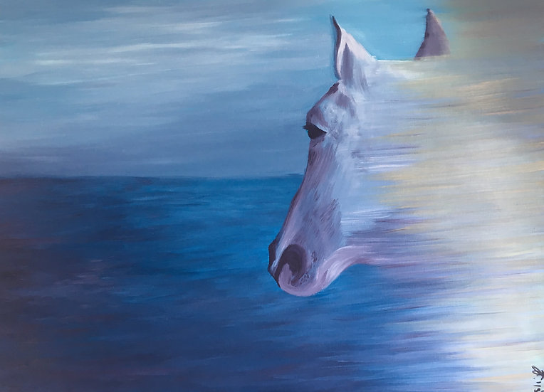 SEA HORSE - Anca Leahu