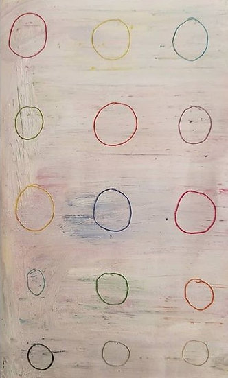 COLOURED CIRCLES - Damian Bisogni