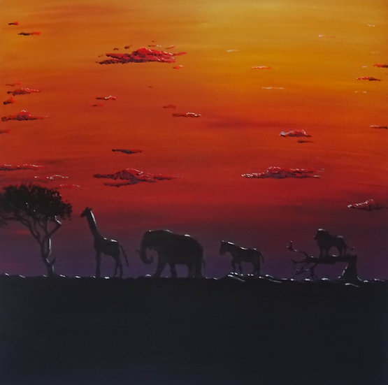 AFRICAN SUNSET - Peter Bobbett