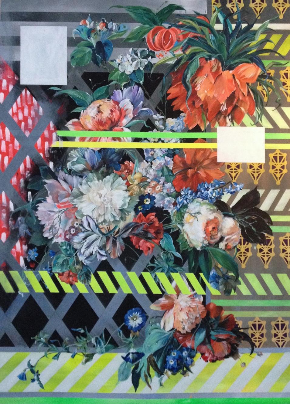 Flowerstudy II - (Juxtaposed)