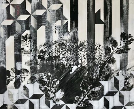 Flowerstudy B/W