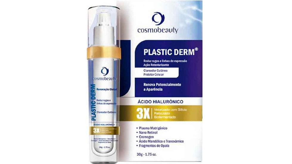 COSMOBEAUTY - Plastic Derm Clareador e Anti Rugas 30g