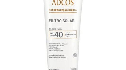 ADCOS - Filtro Solar Gel Creme FPS40 - 120g