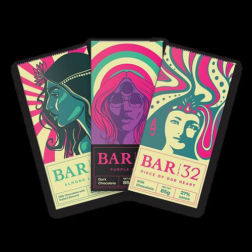 The Classic Vinyl Series - 3 Bar Pack