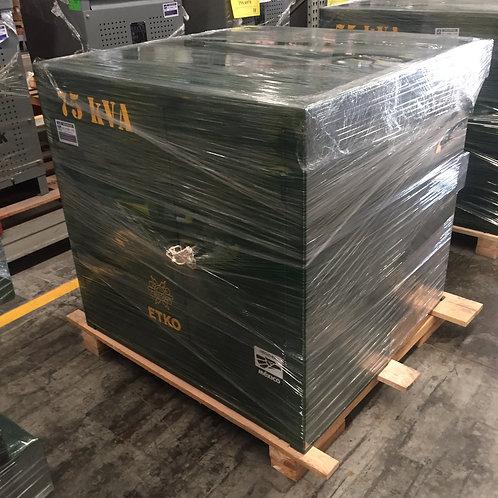 Transformador RTE ETKO 75 Kv Pedestal Trifásico 13200v 220/127