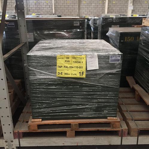Transformador Monofasico Prolec 100 K Pedestal 13200/7620V 120/240