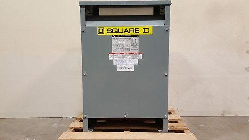 Transformador Square D 50 Kva Tipo Seco Monofásico 480v 120v
