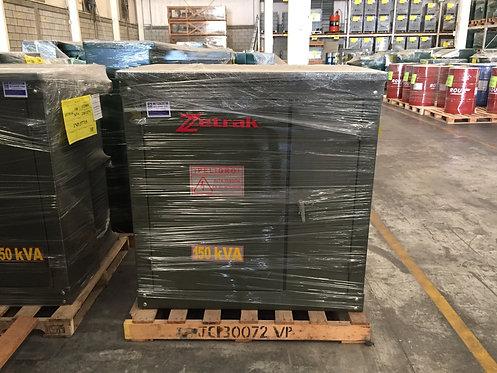 Transformador Zetrak 150 Kv Pedestal Trifásico 13200v 220/127