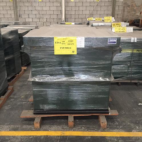 Transformador Trifasico Etsa 150 Kv Pedestal 13200v 220/127v