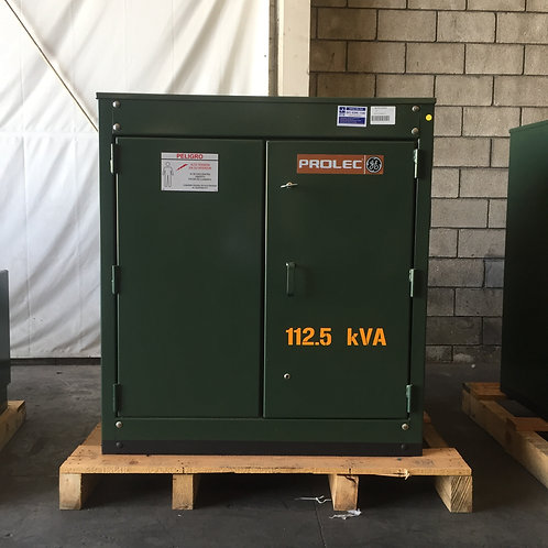 Transformador 3f Prolec 112.5 Kv Pedestal 13200v 220/127v
