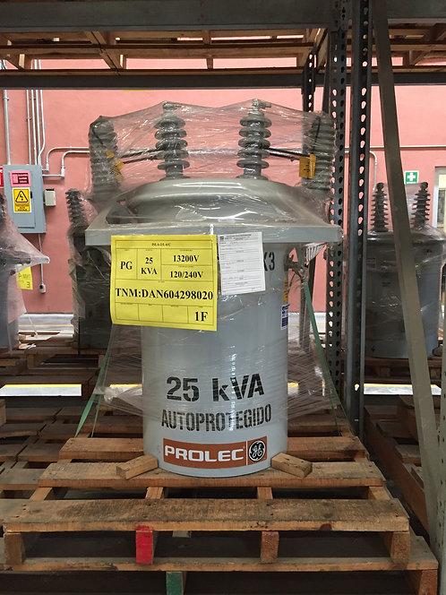 Transformador Prolec 25 Kva Poste Monofásico 13200v 120/240v