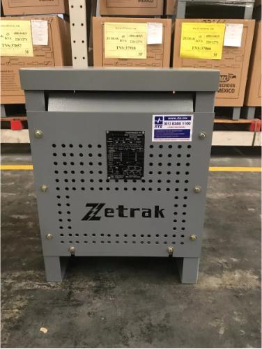 Transformador Zetrak 45 Kva Tipo Seco Trifásico 440v 220/127