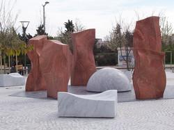 2008 Mémorial de la Paix (detail)