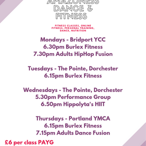 New Timetable from September 9th!