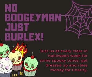 burlex fitness, charity class
