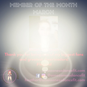 MEMBER OF THE MONTH!!!