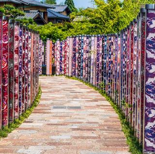 Unique path in Arashiyama