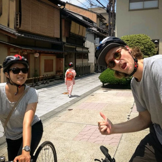 Kyoto Bike Tour with Geisha