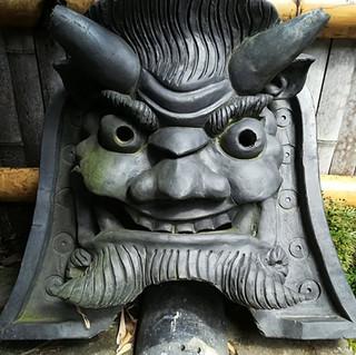 Onigawara in Arashiyama