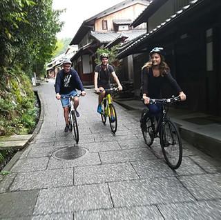 Cycling the Backstreets of Arashiyama