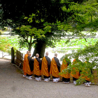 Monks Chanting in Arashiyama