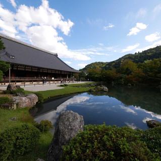 Tenryuji Zen Temple in Arashiyama, Kyoto