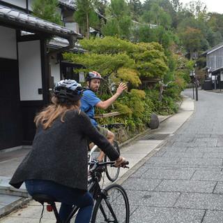 Cruising the Backstreets of Arashiyama
