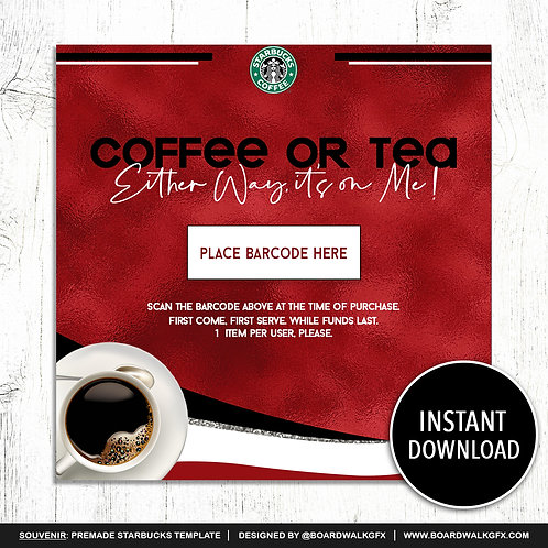 COFFEE OR TEA #001
