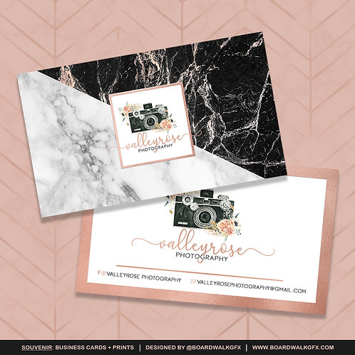 PRINTED BUSINESS CARDS (+ DESIGN)