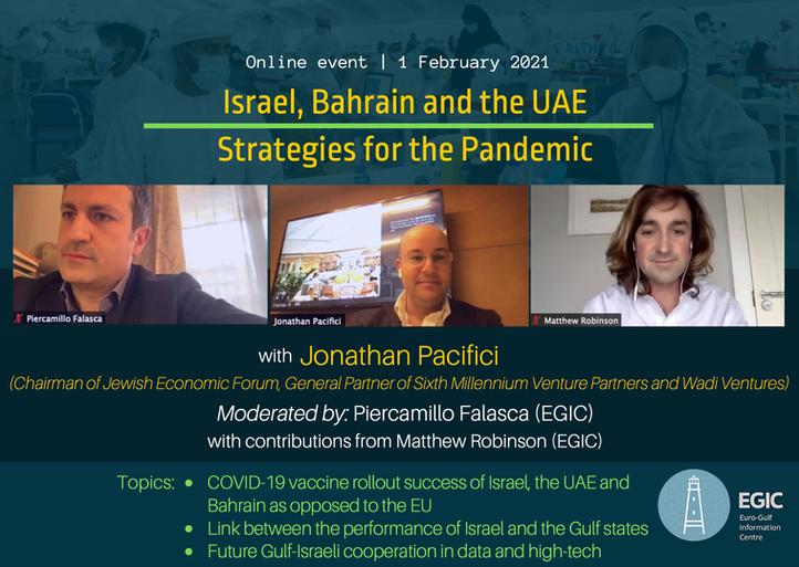 Webinar_Israel, Bahrain, UAE, Strategies