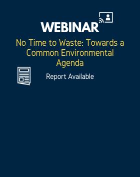 No Time to Waste: Towards a Common Environmental Agenda