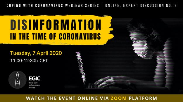Disinformation in the Age of Coronavirus