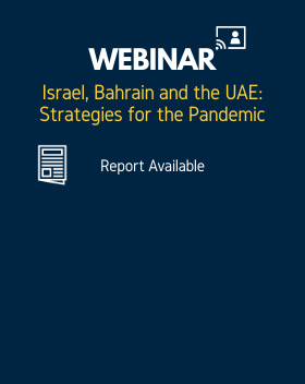 Israel, Bahrain and the UAE: Strategies for the Pandemic