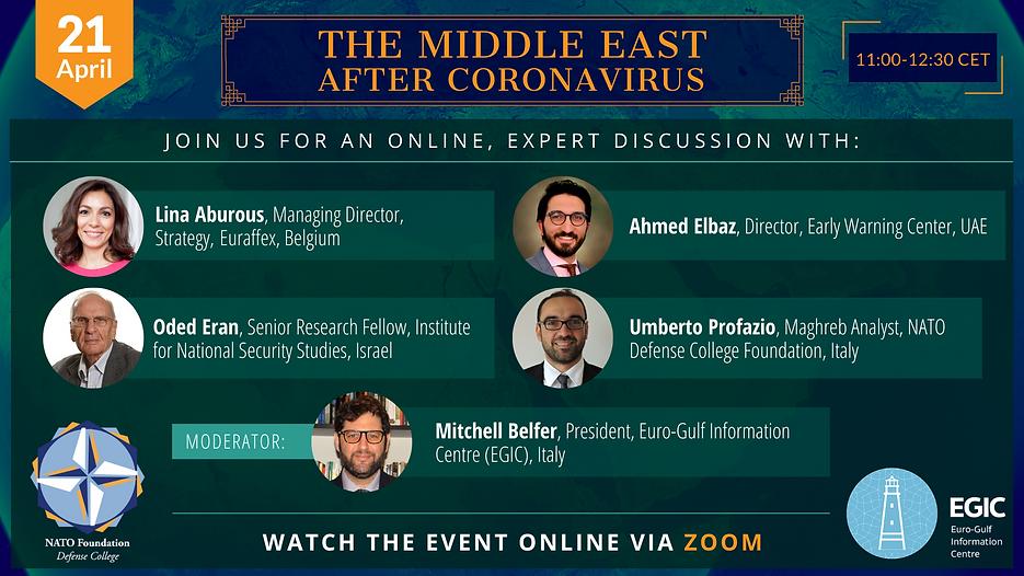 EGIC_NATO Foundation Event Arab Geopolit