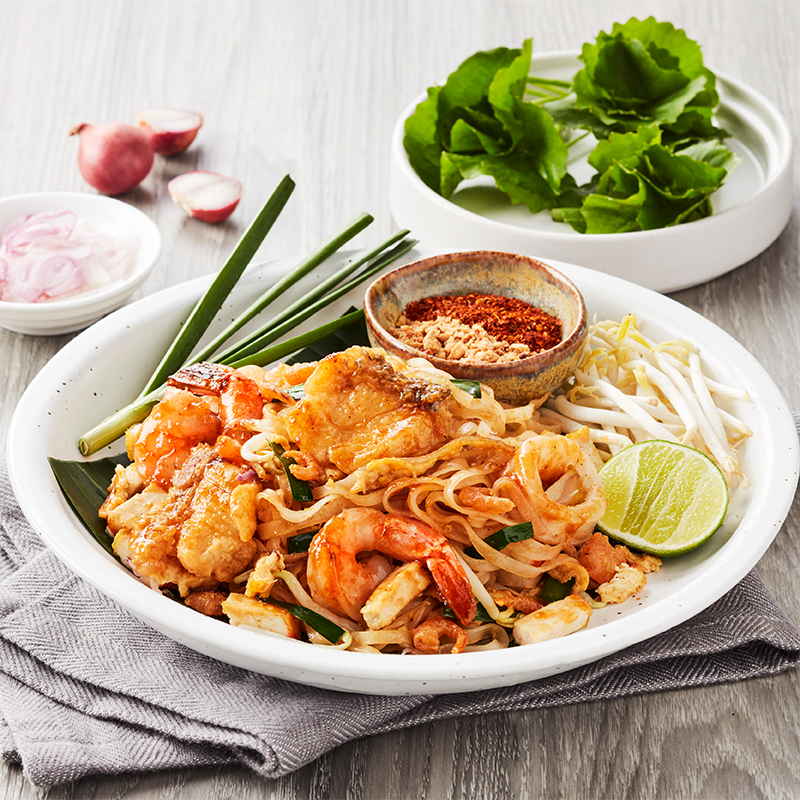 Phat Thai with Seafood